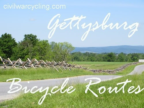 Gettysburg Bicycle Routes at Civil War Cycling