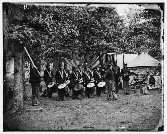 93rd NY Drum Corps, Bealton VA 1863