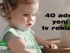 Bebeklerin Sevdiği 40 Adet Yemek Yediren Reklam