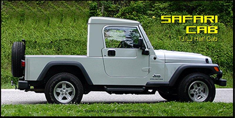 98 Tj Xtop Half Hardtop Kit Gr8tops The Wrangler Half Top Half Cab