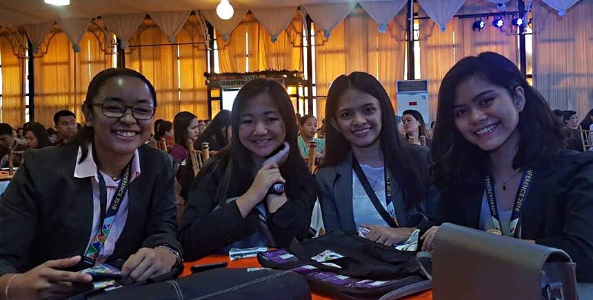 Senior High School students join International Research Conference