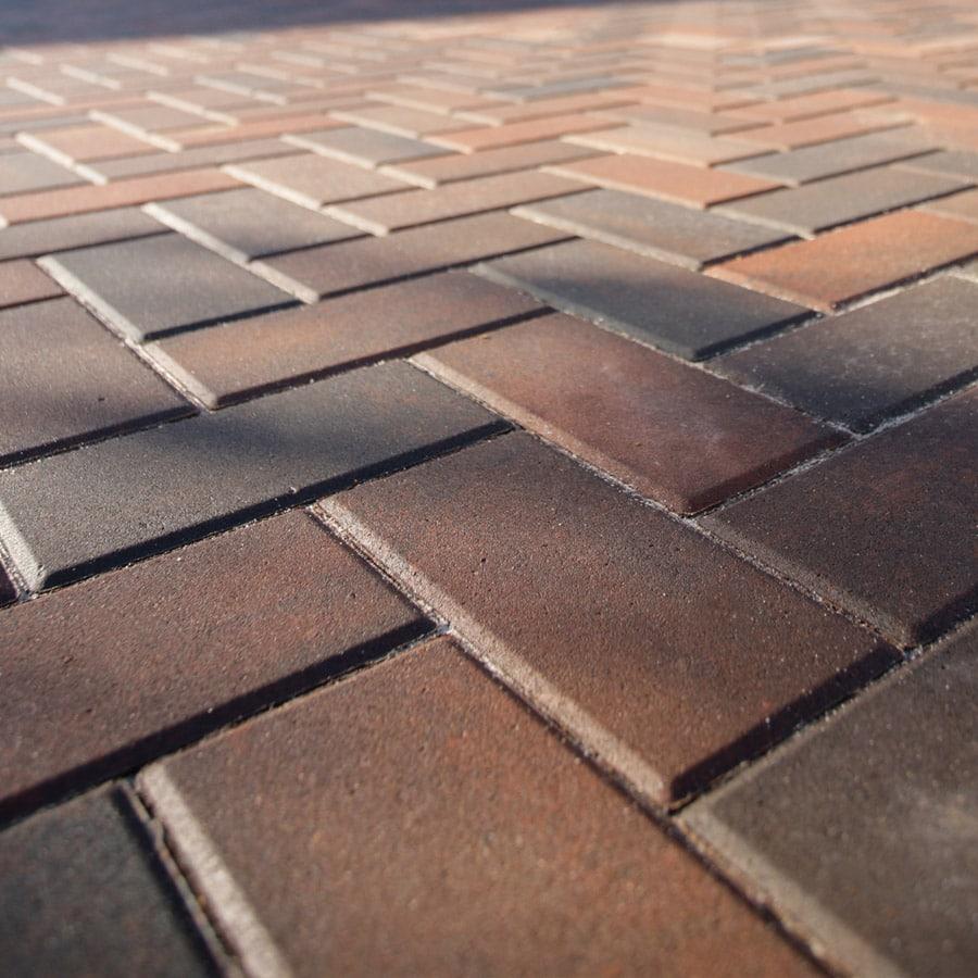 Omega block paving