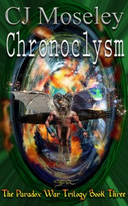 Chronoclysm book cover design