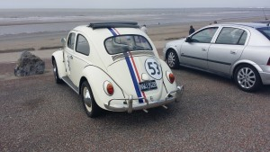A VW beetle that looks like Herbie