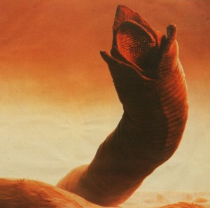 Sandworm from Dune
