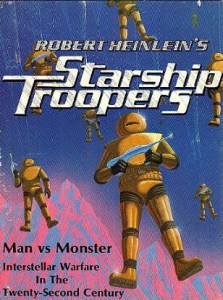 Starship Troopers cover showing Powered Armoured Troopers