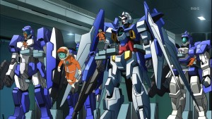 Still from Japanese Anime Mobile Suit Gundam