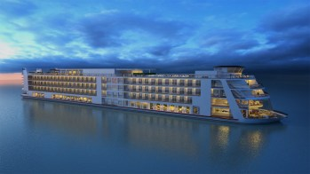 cjparis_River Ship Sunset