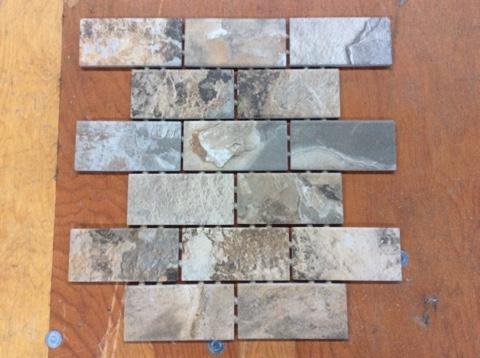 mohawk stone look mosaic tile lot p3