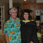 Family Photos Friday: Dads & Grads — Me And My Dad