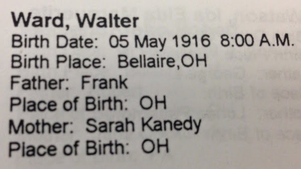 #52Ancestors: Walter Ward (b. 1916), My Grandfather's Mystery Brother