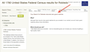 Robledo - 1790 US Census - Ancestry