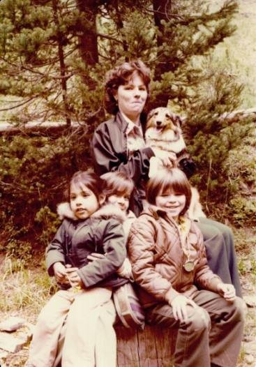 Robledo Family, Camping, Late 1970s