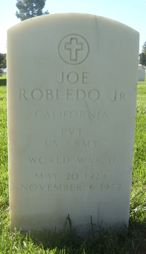 Joe Robledo, Jr. - Headstone - Find a Grave