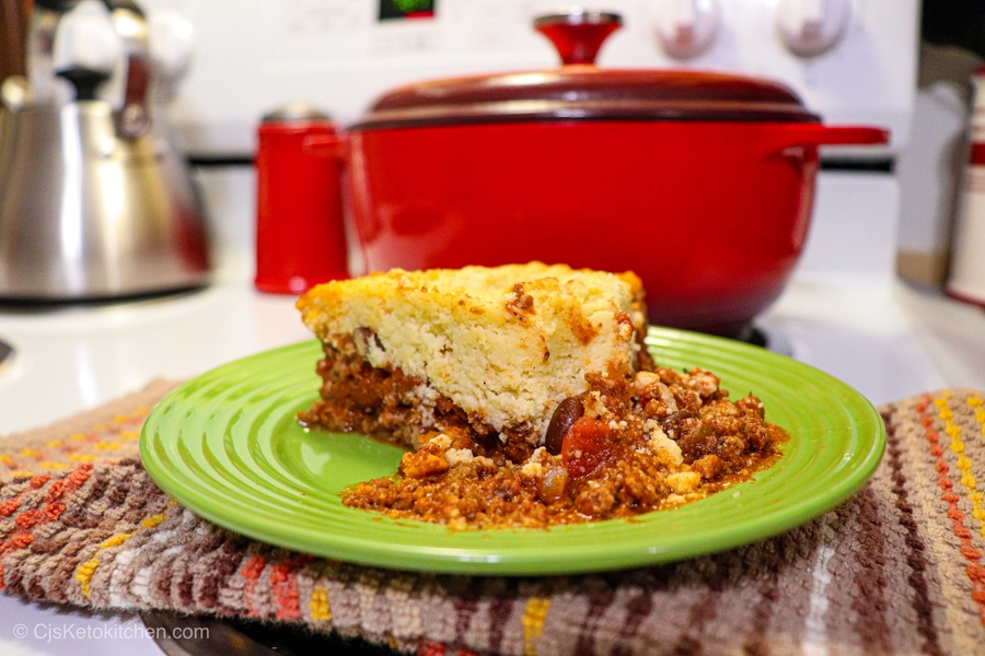 Delicious Keto Tamale Pie