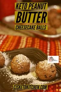 Keto Chocolate Peanut Butter Balls