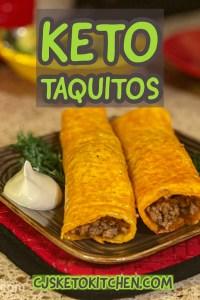Keto Taquitos Pinterest