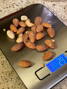 Mixed Nut Serving Size (28 grams or 1 oz)