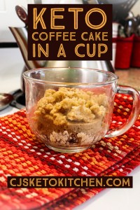 Coffee Cake In a Cup