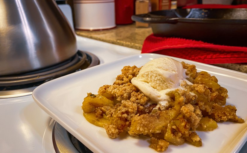 Keto Mock Apple Cobbler