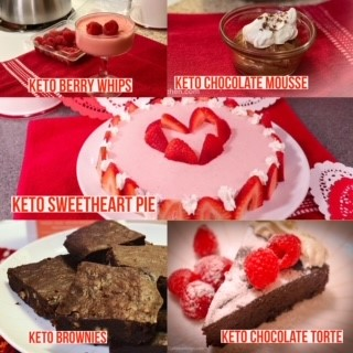 Showcasing 5 Keto Valentine's Day Recipe Ideas