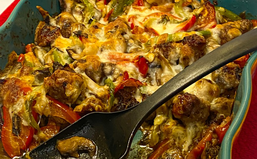 Sausage and Peppers Casserole