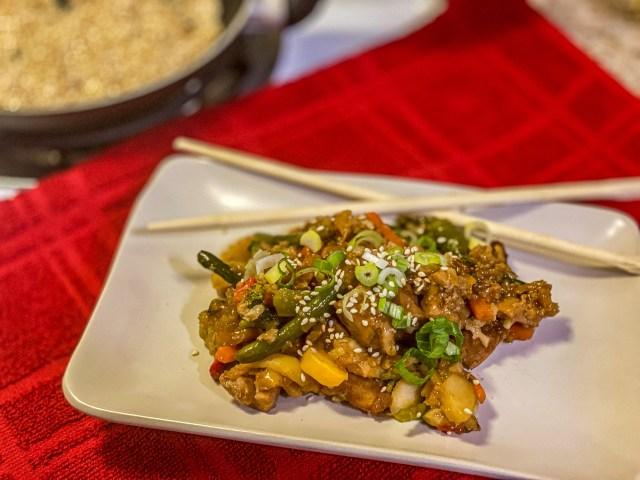 chicken teriyaki casserole