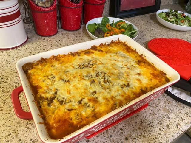Keto No Noodle Lasagna