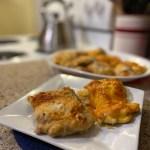 Easy Cheesy Chicken Thighs
