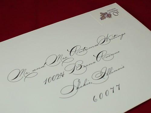 Mailing Wedding Invitations Gangcraft
