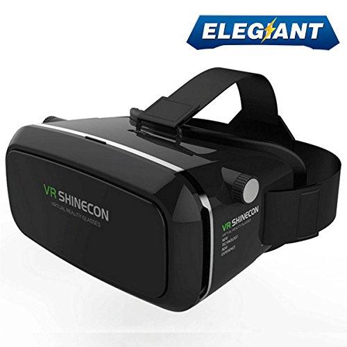 15294a11fc3 ELEGIANT 360 Viewing Immersive Virtual Reality 3D VR Glasses Google  Cardboard 3D Video Games Glasses VR Headset ...