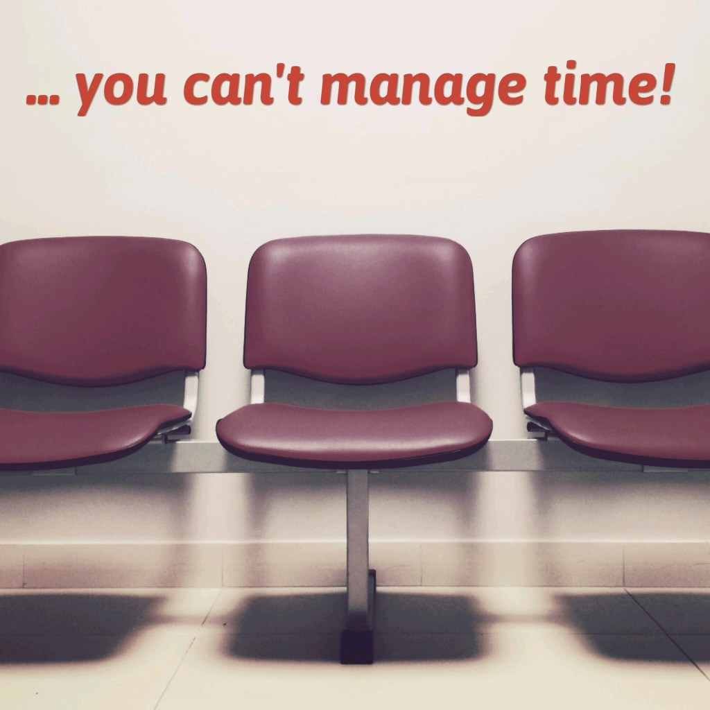 You can't manage time