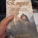 Empire... epic fantasy by Calvin Jones, now available as a paperback