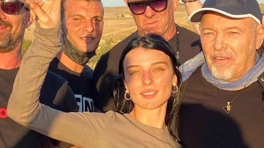 Alice Pagani, l'attrice è diventata la musa ispiratrice per il nuovo videoclip di Vasco Rossi (Twitter)