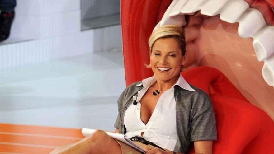 Simona Ventura, difende Paola Perego smentendo la discussione del passato (Getty Images)