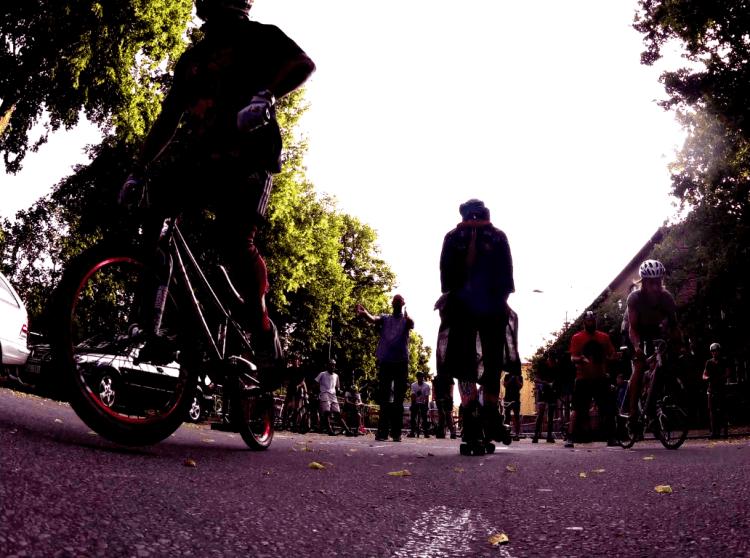 Dragrace efter start
