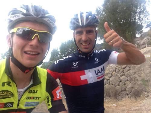 ... profík Vicente Reynes a moje maličkost, pošvihání s ním bylo super ...
