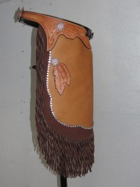 Tooles Feathers, Swarovski Chrystal Conchos & Twisted Fringes