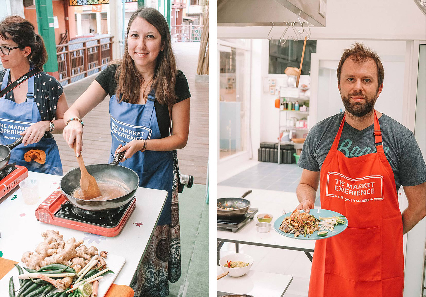 A Bangkok cooking class 'with a twist' in the flower market