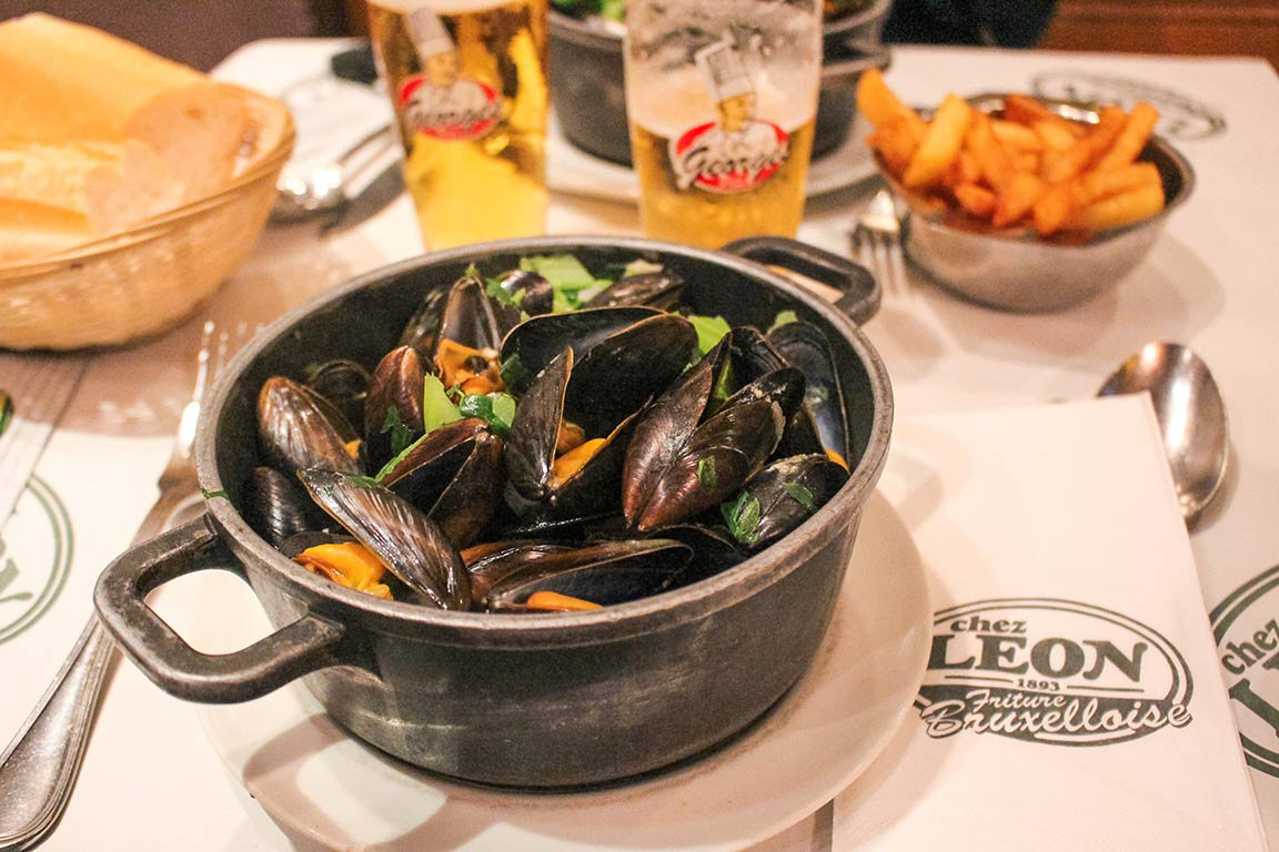 How to spend a weekend in Brussels, Belgium   Things to do   Chez Leon