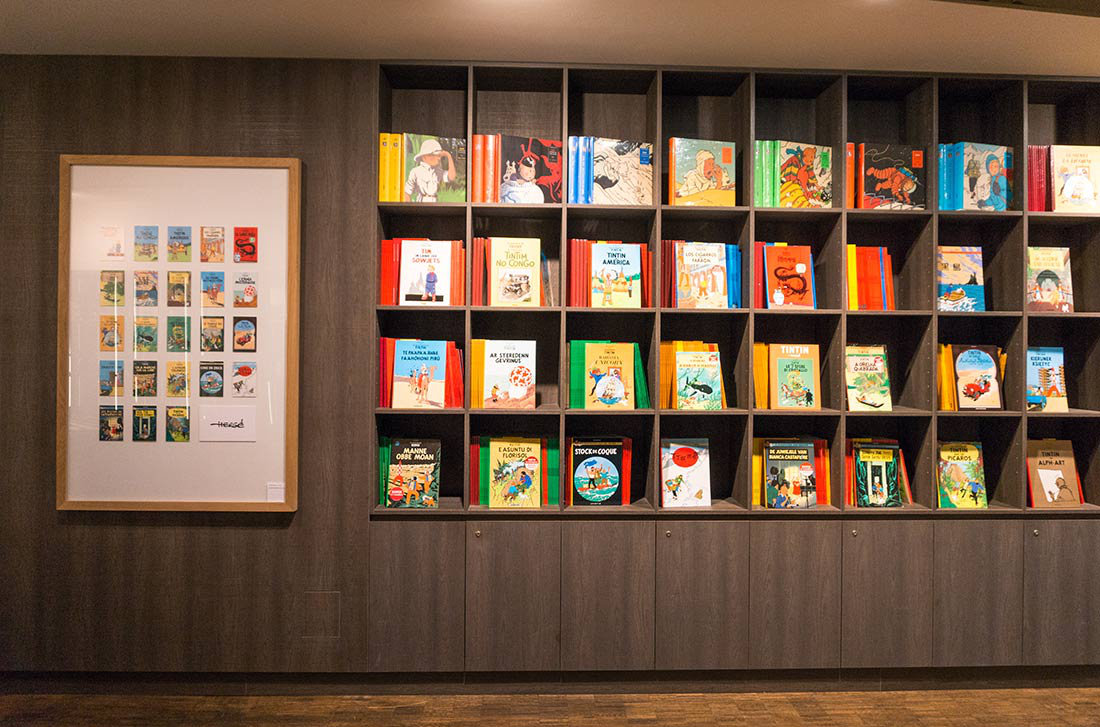 How to spend a weekend in Brussels, Belgium   Things to do   La Boutique Tintin