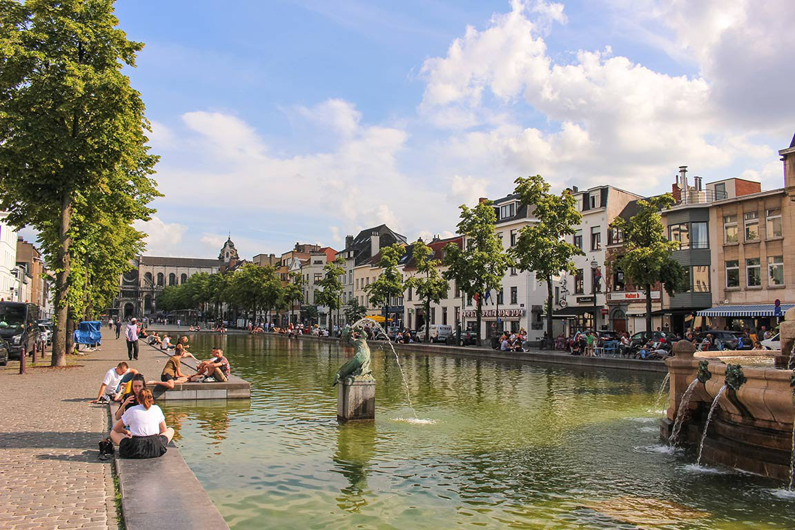 How to spend a weekend in Brussels, Belgium   Things to do   Sainte Catherine