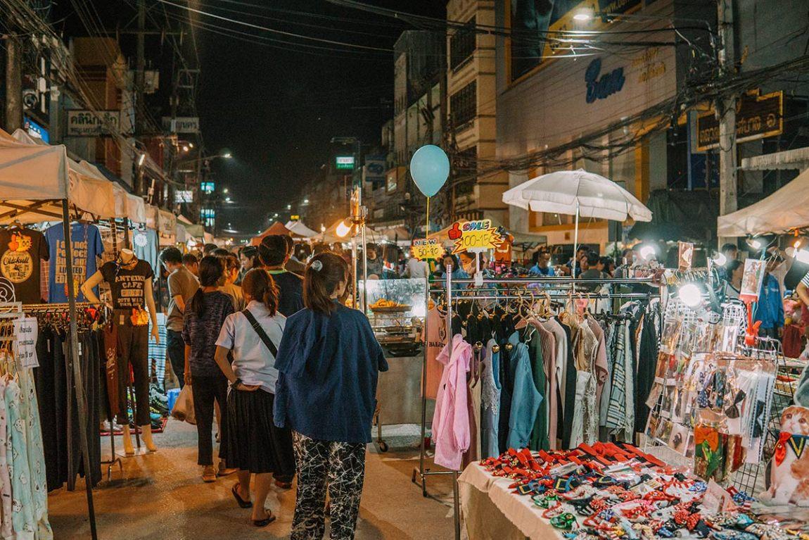 Top things to do chiang rai, Northern Thailand blog post   Saturday Walking market