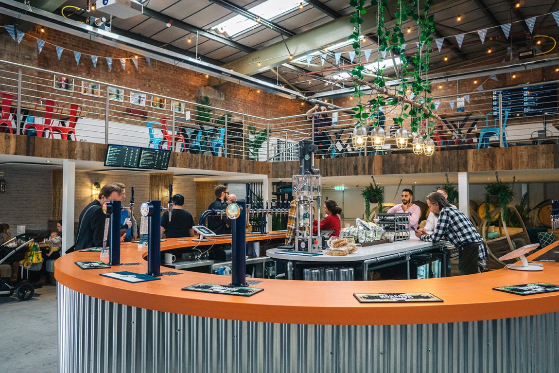 Bermondsey beer mile | Fourpure