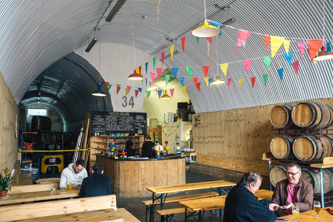 Bermondsey beer mile | Partizan