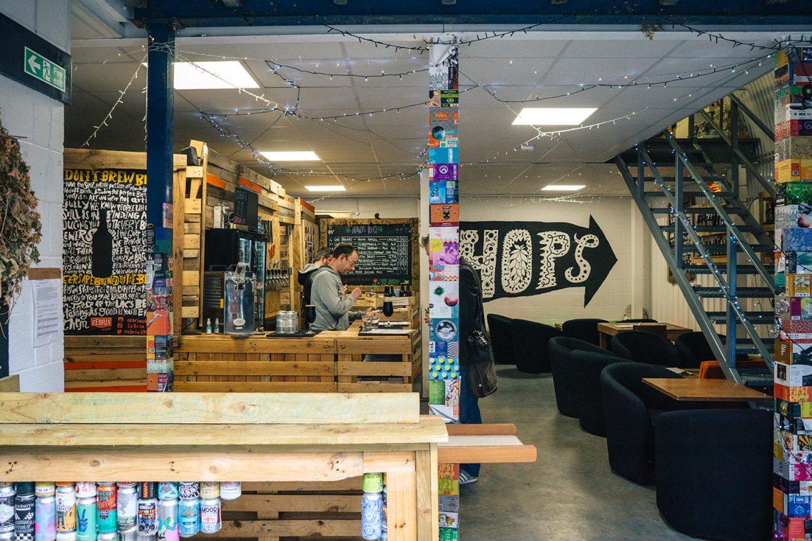 Bermondsey beer mile | EeBria