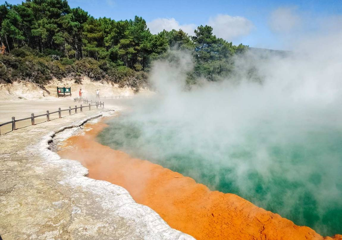 Wai O Tapu Thermal Wonderland - The best things to do in Rotorua - travel guide