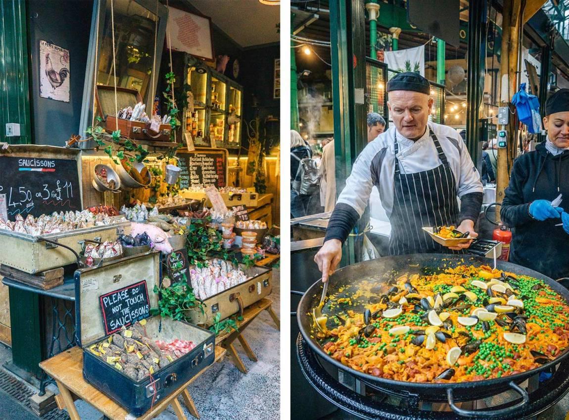 Borough Market, London Bridge - best Saturday markets in London