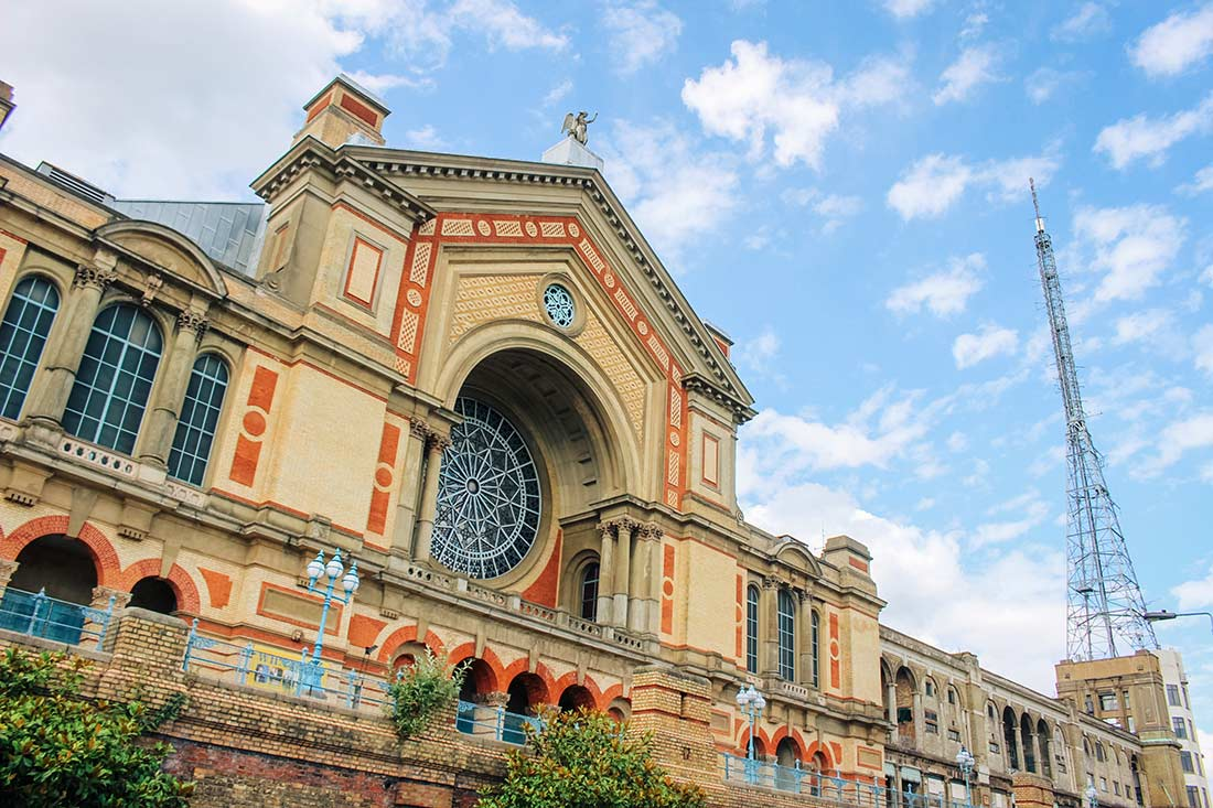 Guide to Alexandra Palace in north London