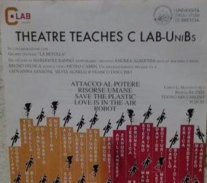 I CLabber fanno teatro! Con Theater Teaches.